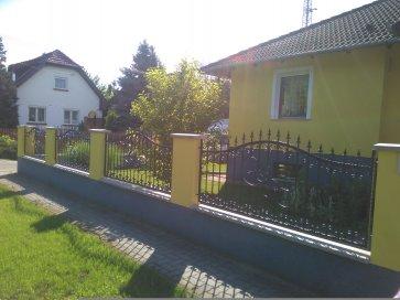 Kovácsoltvas kerítés Gellért-hegy