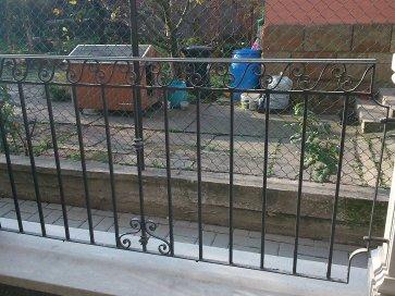 Kovácsoltvas kerítés Kecskemét